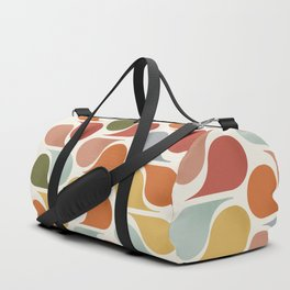 retro pattern no4 Duffle Bag