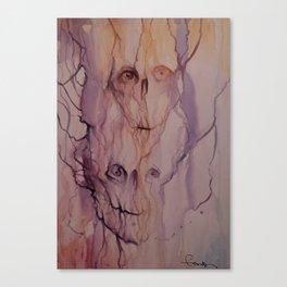 watercolor print Canvas Print