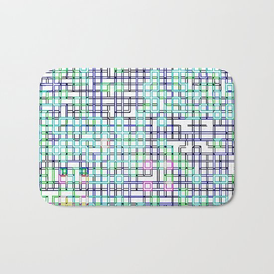 lines colors mystery relaxation in mystery Bath Mat