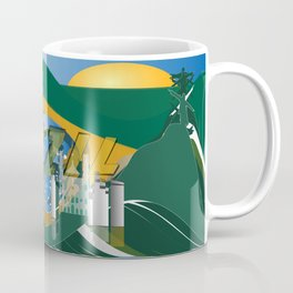 Abstract Rio de Janeiro Skyline Coffee Mug