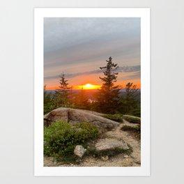 acadia national park Art Print