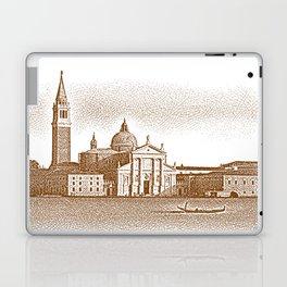 Venice. Sepia Engraving. Laptop & iPad Skin