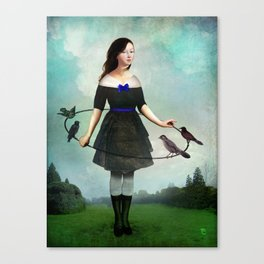 The Garden Game Canvas Print