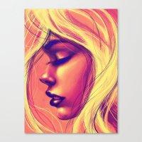 sunshine Canvas Prints featuring Sunshine by Suarez Art