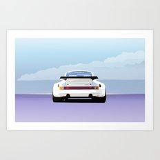 1974 Porsche 911 RSR 3.0 Carrera Art Print