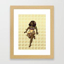 May Fairy Framed Art Print