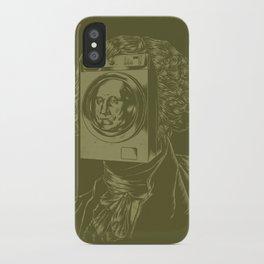 George WASHINGton Machine iPhone Case