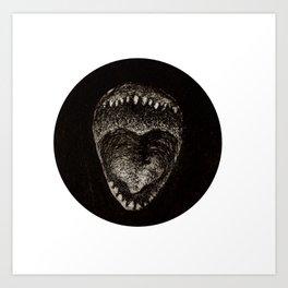 Round Jajojem Art Print