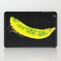 banana iPad Cases featuring Banana by SaraWired