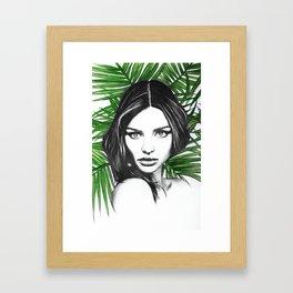Kerr. Framed Art Print
