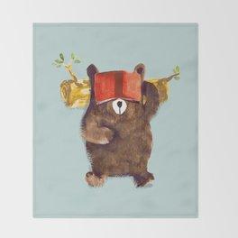 No Care Bear - My Sleepy Pet Throw Blanket