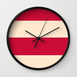 The Cannibal's Office Curtains Wall Clock