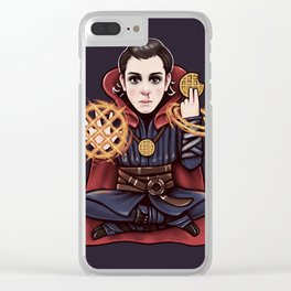 Doctor Stranger Clear iPhone Case
