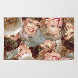 Golden Girls Toss Rug