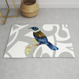 Tui New Zealand Bird Rug