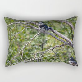 Two 4 One - Belted Kingfisher Rectangular Pillow