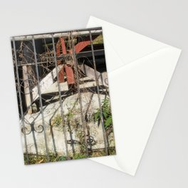 Behind the gate Stationery Cards
