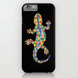 Vivid Barcelona City Lizard iPhone Case