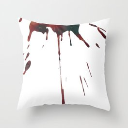 Menstrual Paintings I Throw Pillow