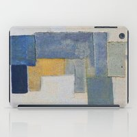 rustic iPad Cases featuring Rustic Rhino by Fernando Vieira