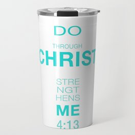 4:13 Philippians Travel Mug