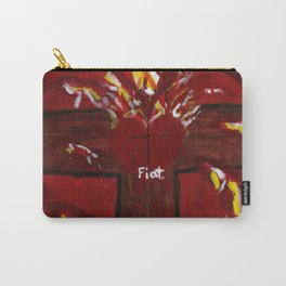 Jesus' Crucified Heart Carry-All Pouch