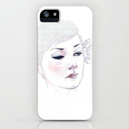 Kristina iPhone Case