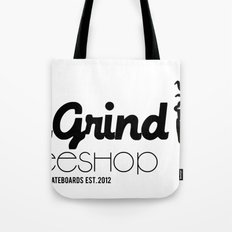 Daily Grind Coffe Shop Tote Bag