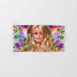 Barbie Hand & Bath Towel