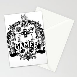Gamer Dice RPG Tabletop gamepad funny gifts Stationery Cards