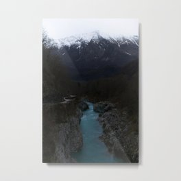 The Soca River Izonso Metal Print