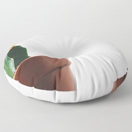 Pete The Cactus (Color) Floor Pillow
