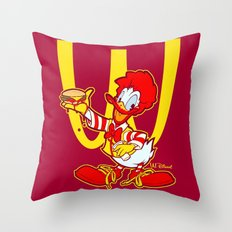 RONALD MCDONALD DUCK Throw Pillow
