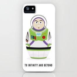 Buzz lightyear russian doll iPhone Case
