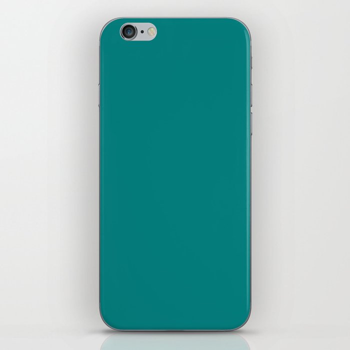 Basic Colors Series - Teal iPhone Skin