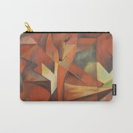 Foxes - Homage to Franz Marc (1913) Carry-All Pouch