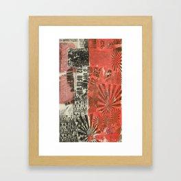 COLLAGE 8 Framed Art Print