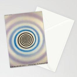 Plakat general dynamics liquid carbonic Stationery Cards