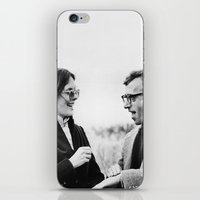 annie hall iPhone & iPod Skins featuring ANNIE HALL by Coco Dávez