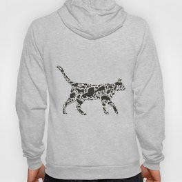 Cat an animal Hoody