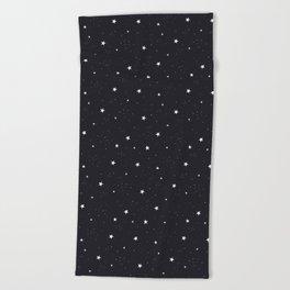 stars pattern Beach Towel