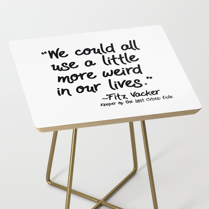 Fan-favorite Fitz Quote Side Table