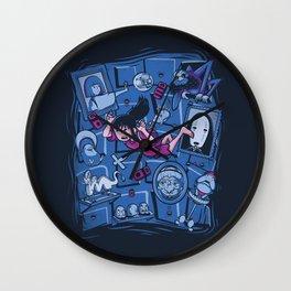 Chihiro in Spiritland Wall Clock