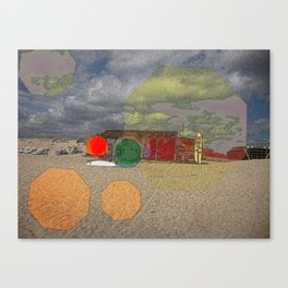 70'S BEACH FLASHBACK Canvas Print