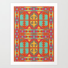 Neo Native Art Print
