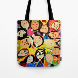 Painting Wednesday Art Class- Part 1 Tote Bag