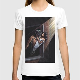 Stranger In The Night Painting T-shirt
