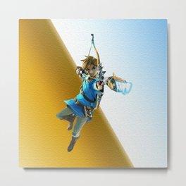 The legend of Zelda(Archer) Metal Print