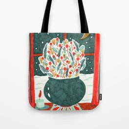 Winter Solstice Still Life by Amanda Laurel Atkins Tote Bag