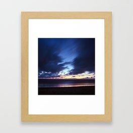Magic Henne Beach on the West Coast of Denmark Framed Art Print